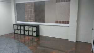 Metallic Epoxy Tile Showroom